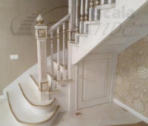 Стильная лестница в дом на второй этаж Беларусь