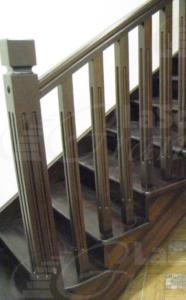 лестница из дуба в дом