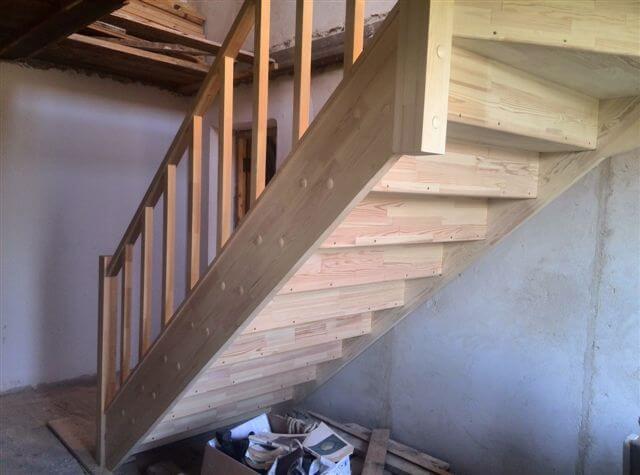 сборка лестницы своими руками