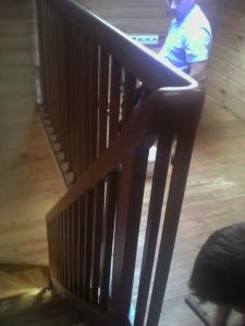 Березовая лестница в Чачково, Минский район