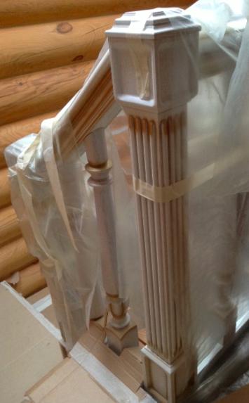 Деревянная лестница премиум класса