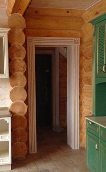 Ограждение арки в доме Минск