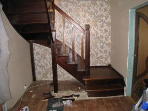 дачная лестница