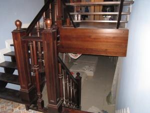 дубовая лестница в дом ленинградской области