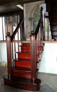 Дубовая лестница в Липецке, Лестница Кабальеро