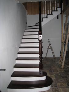 фото лестницы дачной