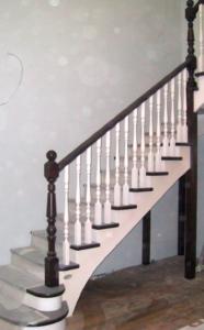 деревянная лестница в дом на второй этаж беларусь