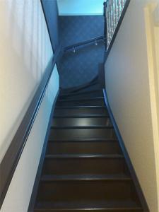 лестница на тетиве на дачу