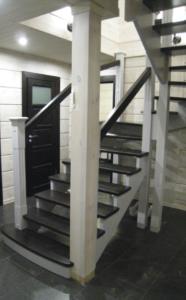 Лестница в дом заказать