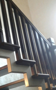 Лестница на металлокаркасе lascalagrande.by