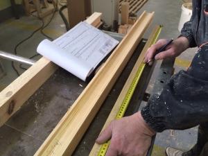 изготовление лестницы по чертежу