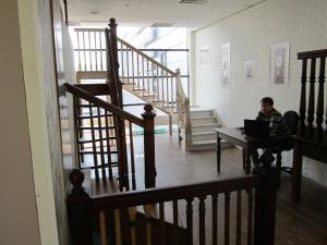 Салон образцов лестниц lascalagrande в Санкт-Петербурге