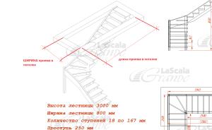 Чтобы заменить старую лестницу в доме на более удобную, как правило, необходимо увеличить место под лестницу.