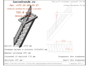 лестница «с гусиным шагом»