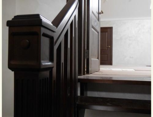 Деревянная лестница Большое Стиклево, Минский район Беларусь